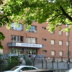 Mapa del sitio. Alrededores. Centro Salud José Aguado
