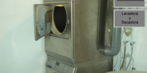 Instalaciones y servicios. Lavandería