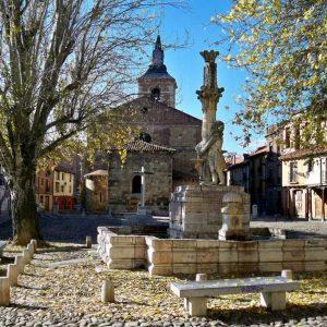 Mapa del sitio. Alrededores. Iglesia del Mercado o Plaza del Grano